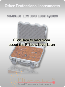 Click Here for more information about the PTI Low Level Laser